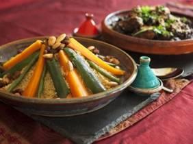 Oferta Menú árabe con espectáculo