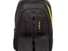 Mochila Targus Work+Play Negro - Amarillo hasta 15
