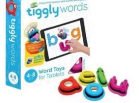 Sistema de aprendizaje para iPad y table Tiggly Palabras