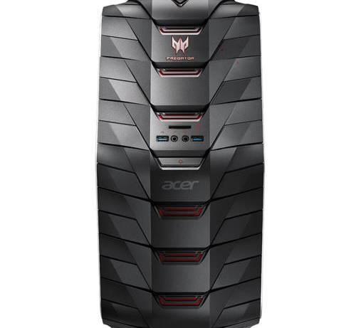 Ordenador de sobremesa Acer Predator G6-710 Negro - Rojo
