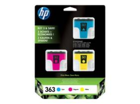 HP 363 Pack 3 colores