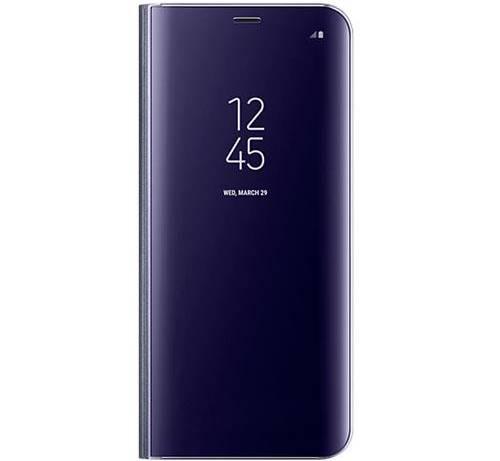 Funda Samsung clear view standing violeta para Galaxy S8 plus