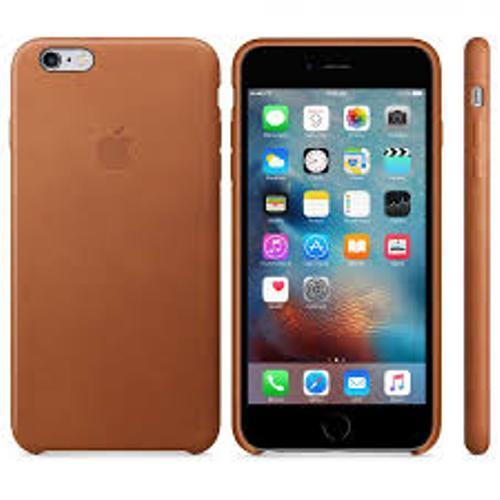 Apple iPhone 6s Plus Funda de piel Saddle Brown