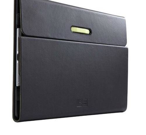 Funda con soporte Case Logic Slim Folio para iPad Air 2 negra