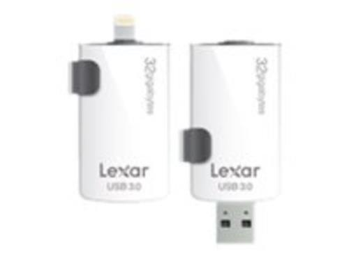 Memoria USB Lexar® JumpDrive® M20i 16 GB USB 3.0 Lighting Pendrive