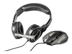 Pack de auriculares y ratón Trust GXT 249 PC