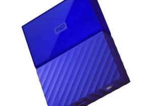 Disco duro externo WD My Passport 2 TB 2.5'' azul