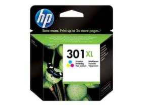 Cartucho de tinta HP 301 XL Alta capacidad Tricolor