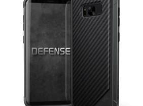 Funda X-Doria Defense Lux Negro carbón para Samsung Galaxy S8