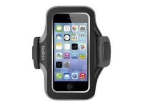 Brazalete deportivo Belkin Slim-Fit Armband iPhone 5 Negro - Gris