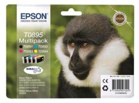 Epson T089 Pack tinta negro + color