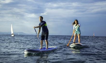 Oferta Curso de iniciación paddle surf