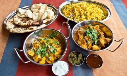 Oferta Menú hindú para 2 o 4 personas