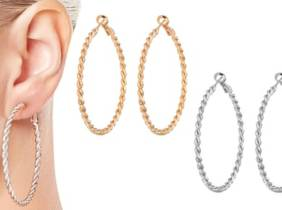 Oferta Aros trenzados Philip Jones