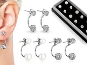 Oferta Pendientes de mujer Philip Jones con cristales de Swarovski®