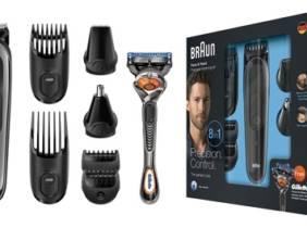 Oferta Set de afeitado 8 en 1 Braun